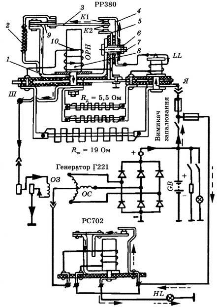 Схема электромеханического